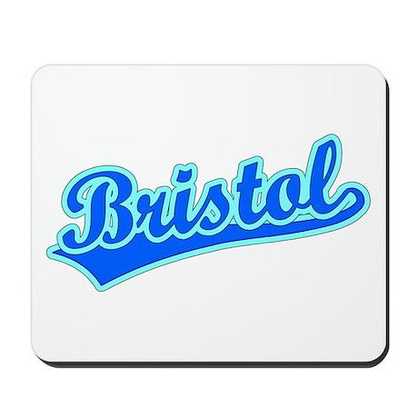 Retro Bristol (Blue) Mousepad