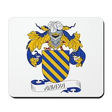 Anaya Family Crest Mousepad