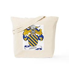 Anaya Family Crest Tote Bag