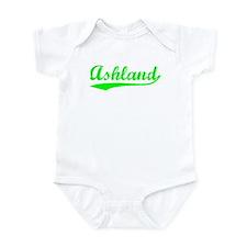 Vintage Ashland (Green) Infant Bodysuit