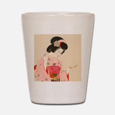 Funny Oriental Shot Glass