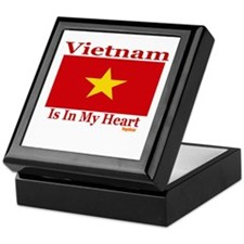 Vietnam - Heart Keepsake Box