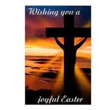 Joyful Easter Postcards (Package of 8)