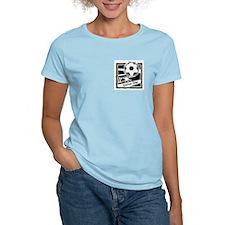 Soccer Star Women's Pink T-Shirt
