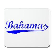 Vintage Bahamas (Blue) Mousepad