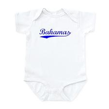 Vintage Bahamas (Blue) Infant Bodysuit