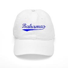 Vintage Bahamas (Blue) Baseball Cap