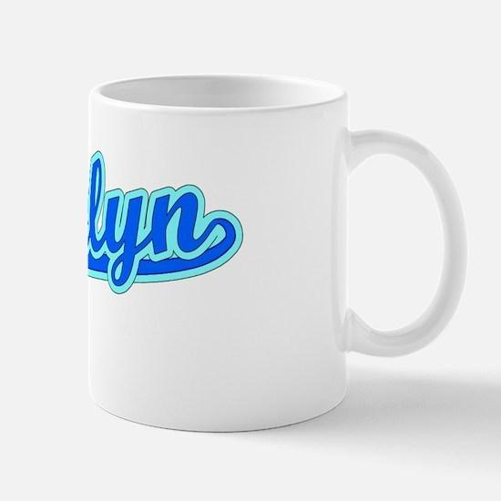 Retro Brooklyn (Blue) Mug