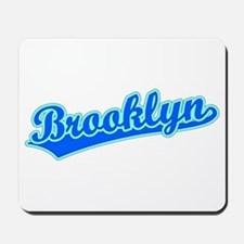 Retro Brooklyn (Blue) Mousepad