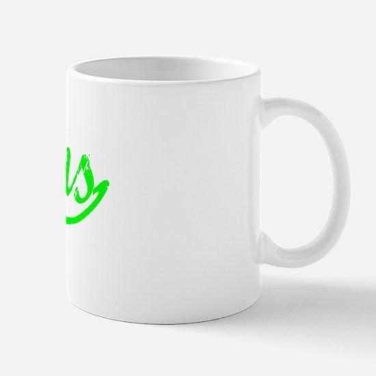 Vintage Athens (Green) Mug