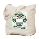 Aponte Family Crest Tote Bag