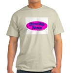 Minimum Wage Princess Ash Grey T-Shirt