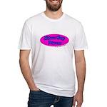 Minimum Wage Princess Fitted T-Shirt