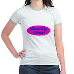 Minimum Wage Princess Jr. Ringer T-Shirt