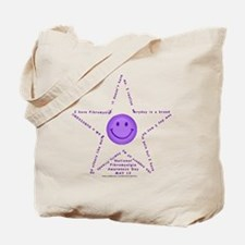 Star Fibro Survivor Tote Bag