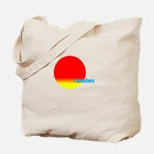 Jaeden Tote Bag