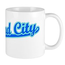 Retro Bullhead City (Blue) Mug