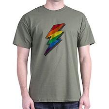 LIGHTNING RAINBOW PRIDE T-Shirt