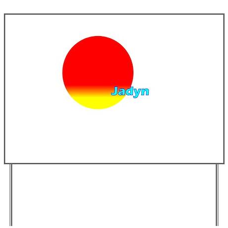 Jadyn Yard Sign