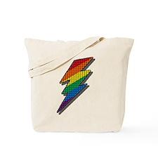 LIGHTNING RAINBOW PRIDE Tote Bag