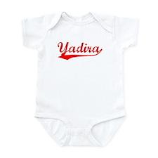 Vintage Yadira (Red) Infant Bodysuit