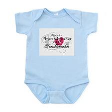 Heart Breaker & Troublemaker Infant Bodysuit