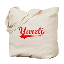 Vintage Yareli (Red) Tote Bag