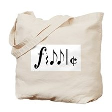 Great NEW fiddle design! Tote Bag