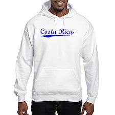 Vintage Costa Rica (Blue) Hoodie