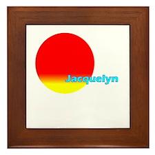 Jacquelyn Framed Tile