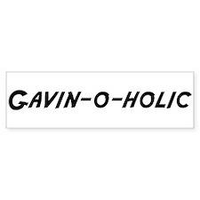 Gavin-o-holic Bumper Bumper Sticker
