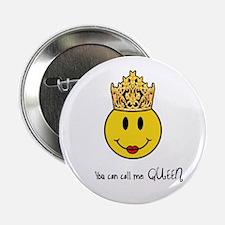 Yellow Queen Button