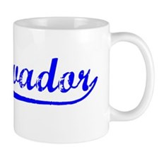 Vintage El Salvador (Blue) Mug