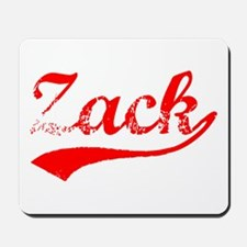 Vintage Zack (Red) Mousepad