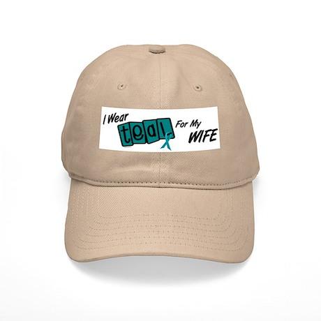 I Wear Teal 8.2 (Wife) Cap