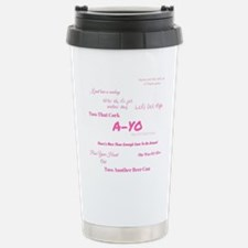 Unique Joanne Travel Mug