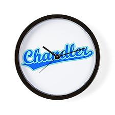 Retro Chandler (Blue) Wall Clock