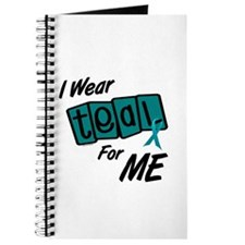 I Wear Teal 8.2 (ME) Journal