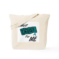 I Wear Teal 8.2 (ME) Tote Bag