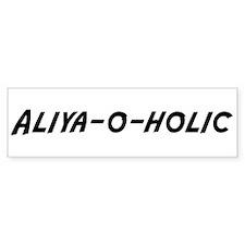Aliya-o-holic Bumper Bumper Sticker