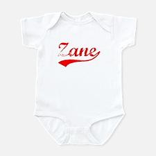 Vintage Zane (Red) Infant Bodysuit