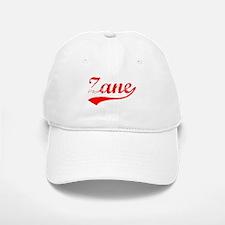 Vintage Zane (Red) Baseball Baseball Cap
