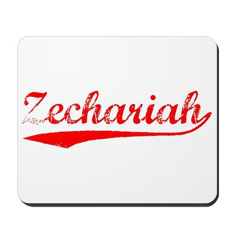 Vintage Zechariah (Red) Mousepad