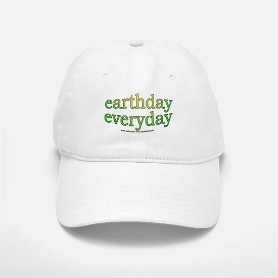 Earth Day Every Day Baseball Baseball Cap