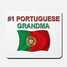 #1 Portuguese Grandma Mousepad