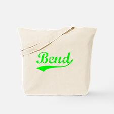 Vintage Bend (Green) Tote Bag