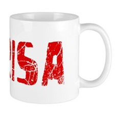 Marisa Faded (Red) Mug