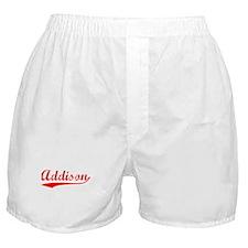 Vintage Addison (Red) Boxer Shorts