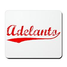 Vintage Adelanto (Red) Mousepad