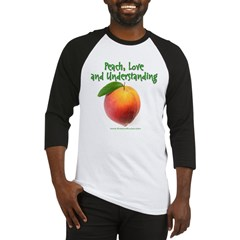 Peach, love and understanding Baseball Jersey